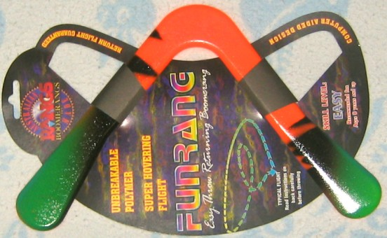 Funrang boomerang - sports model