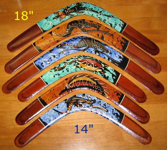 Artfly - Aboriginal Returning Boomerang