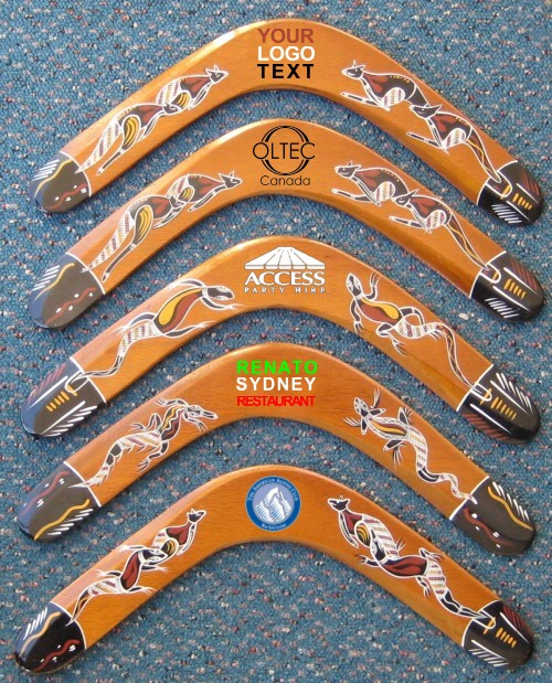 Returning plywood boomerangs, 14 inch