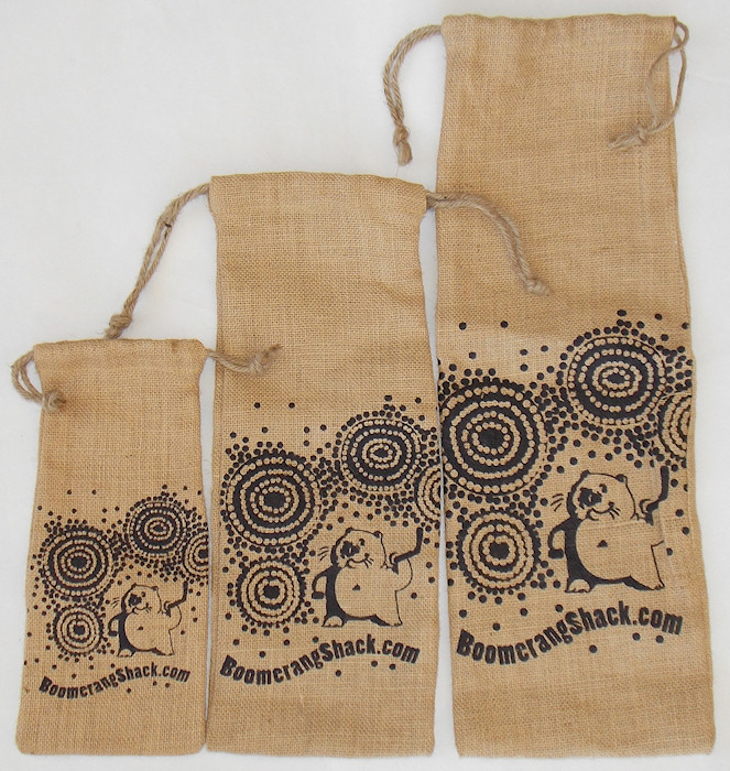 Draw string jute gift bags