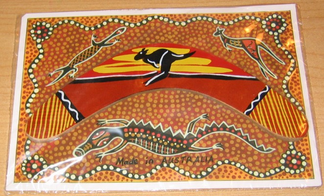 photos of aboriginal dot art. on Aboriginal dot art card