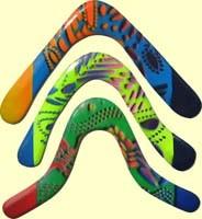returning boomerangs